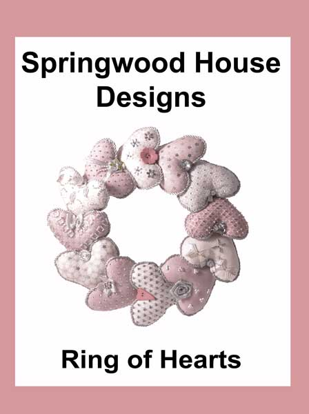 Ring of Hearts kit in silver and pale pink