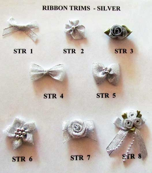 SILVER RIBBON TRIMS