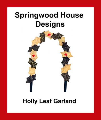Holly Leaf Garland