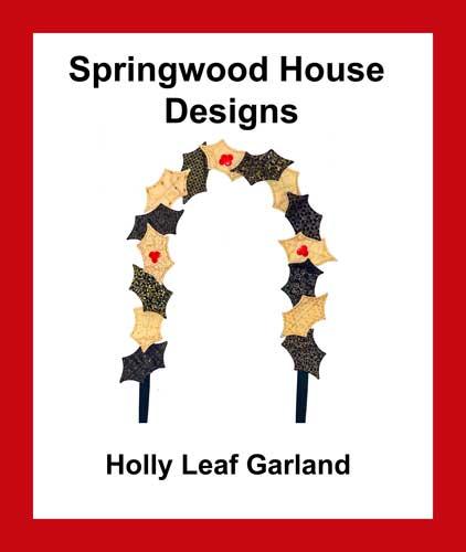 Holly Leaf Garland