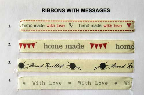 Ribbons with Messages