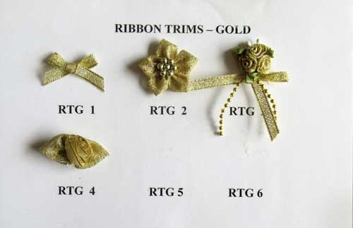 GOLD RIBBON TRIMS